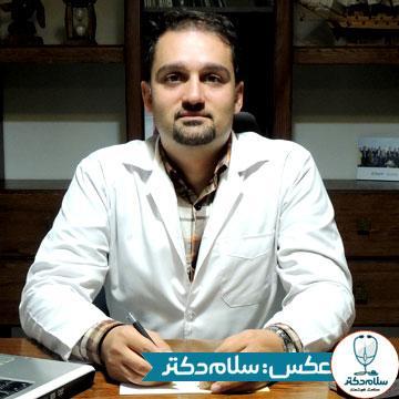 تصویر دکتر آرمین سعیدی