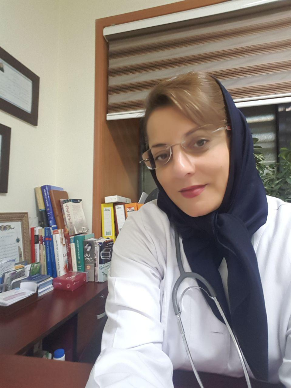 تصویر دکتر سارا منصوریان